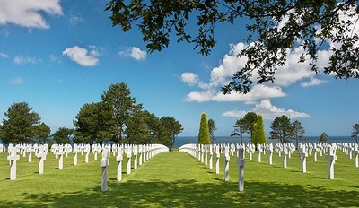 Compare the US Cemetery with all the Cemeteries in Normandy with La Rougerie Tours