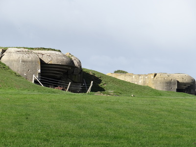 Longues sur Mer Battery where Major Steiner first saw the Invasion fleet