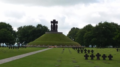Adrian will show you around the largest German Cemetery in Normandy at La Cambe
